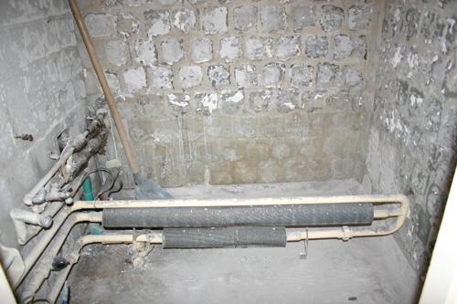 Panel fürdőszoba felújítás 1.  juditu